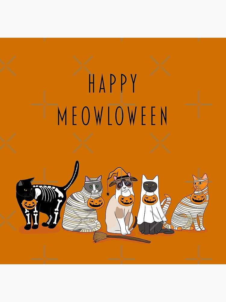 Happy Meowloween Cats! by kilkennycat