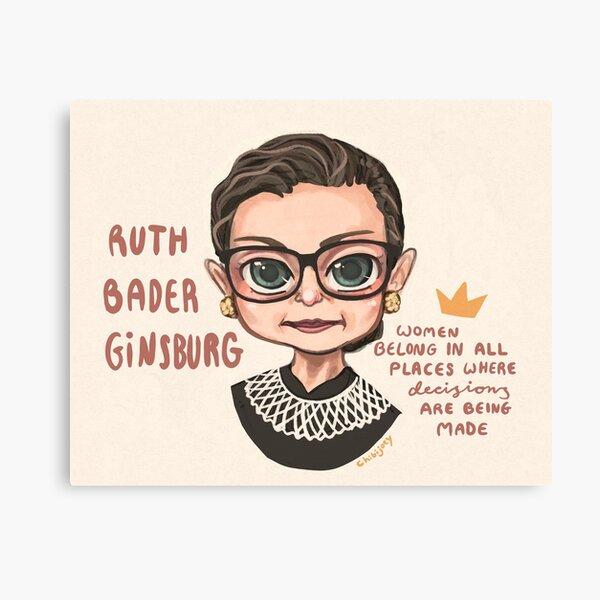 Ruth Bader Ginsburg (RBG) Canvas Print