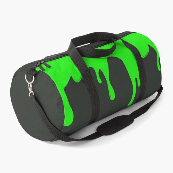 Green Slimy Drip Duffle Bag