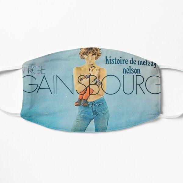 Serge Gainsbourg Masque sans plis