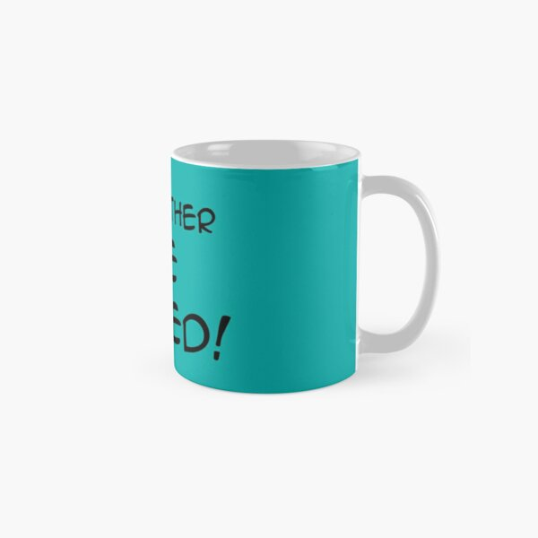I'd Rather Be Naked Classic Mug