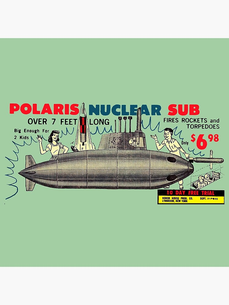 POLARIS NUCLEAR SUB - FOR KIDS! - ADVERT by ThrowbackAds