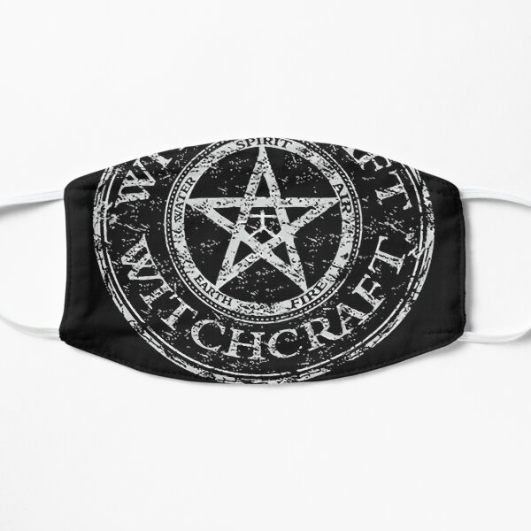 Salem Witch Trails Massachusetts Witchcraft Flat Mask