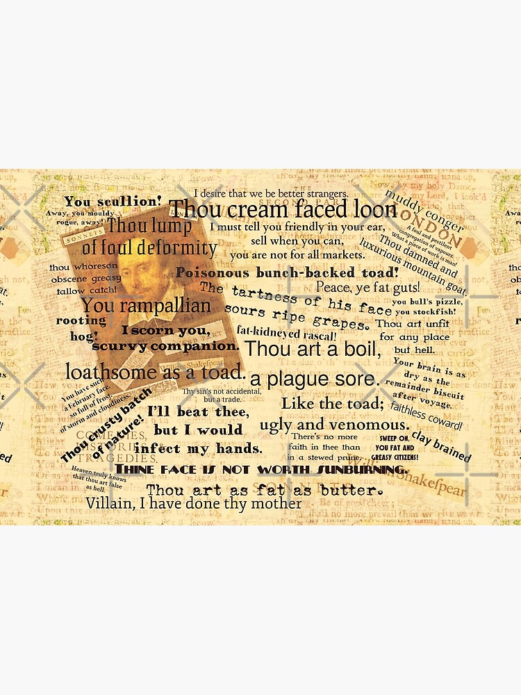 Shakespeare's Best Insults by goldenslipper