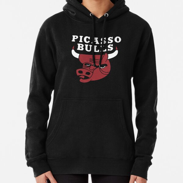 Picasso Bulls Drôle - Chicago Bulls Sweat à capuche épais