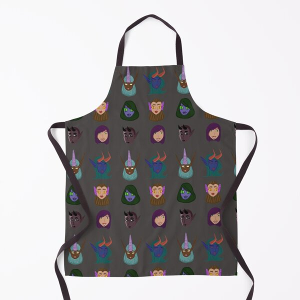 Monster Girl Collection Apron