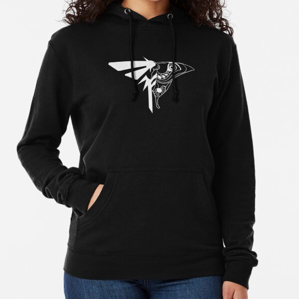 The Last of Us - Firefly / Moth Logo (White) Lightweight Hoodie