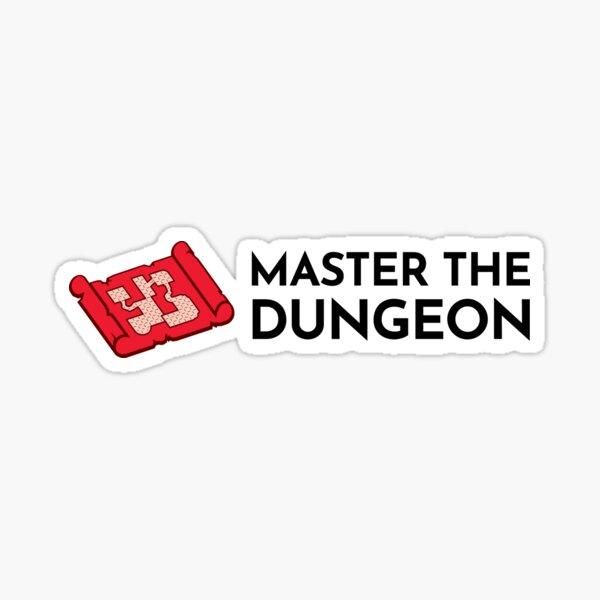 Master The Dungeon Logo Sticker