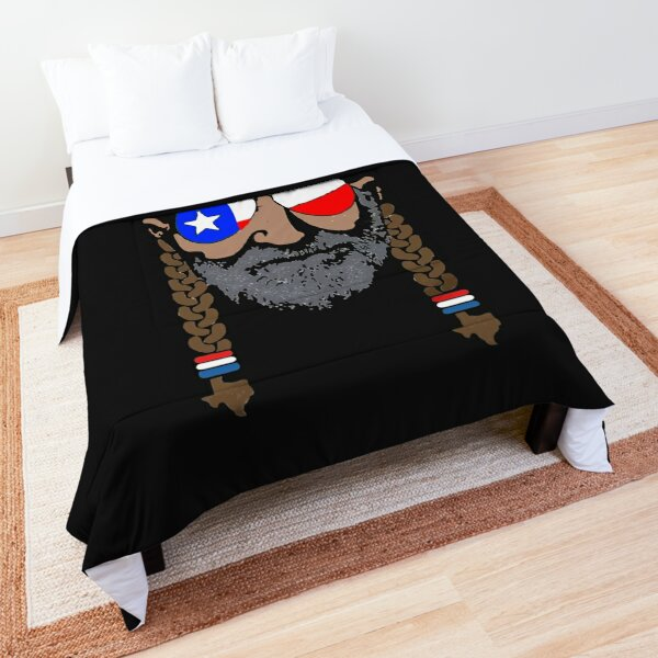 Have A Willie Nice Day Lone Star Comforter