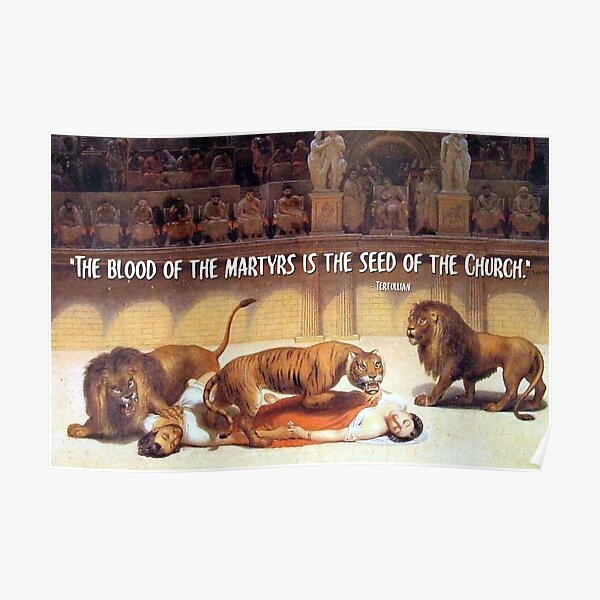 The Blood of the Martyrs - Wild Beasts Poster