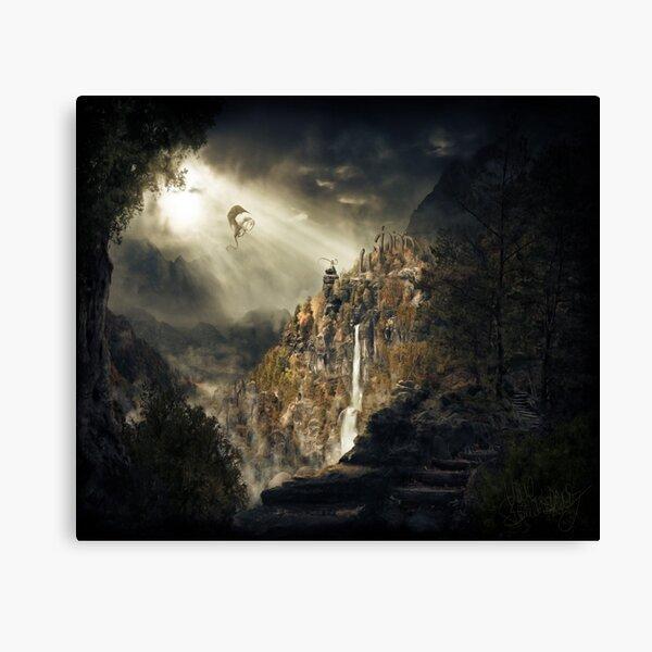 Elder Scrolls Canvas Print