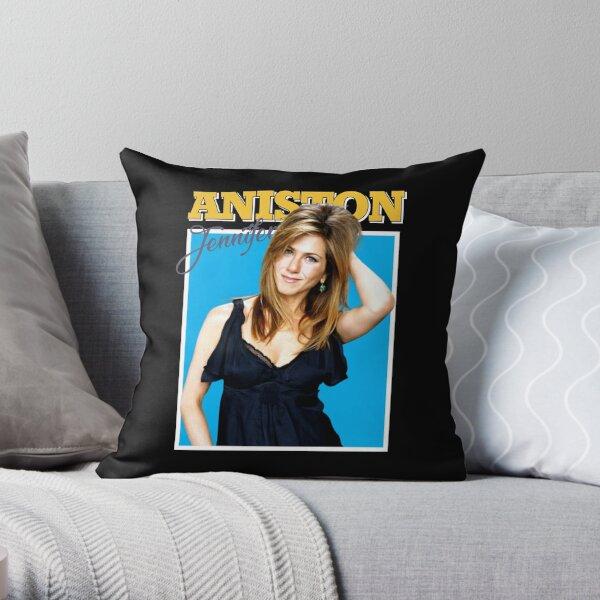 Pamer kelek kecing Jennifer Aniston Throw Pillow