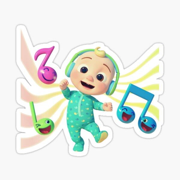 Cocomelon - Musical JJ Sticker, canciones infantiles de Cocomelon Pegatina