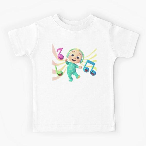 Cocomelon - Musical JJ Sticker, canciones infantiles de Cocomelon Camiseta para niños