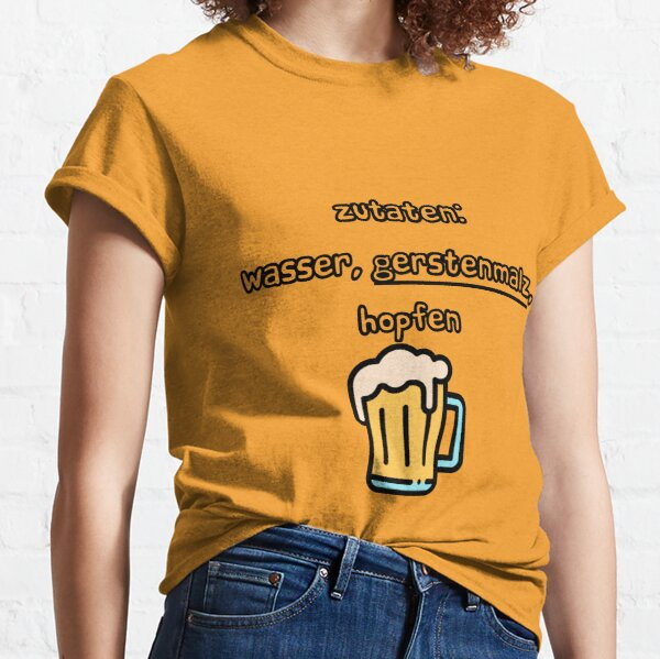 Beer Reinheitsgebot Classic T-Shirt