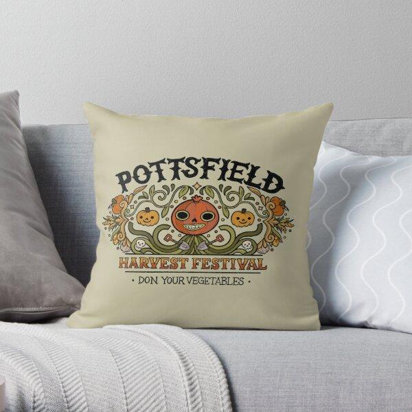 Pottsfield Harvest Festival Throw Pillow