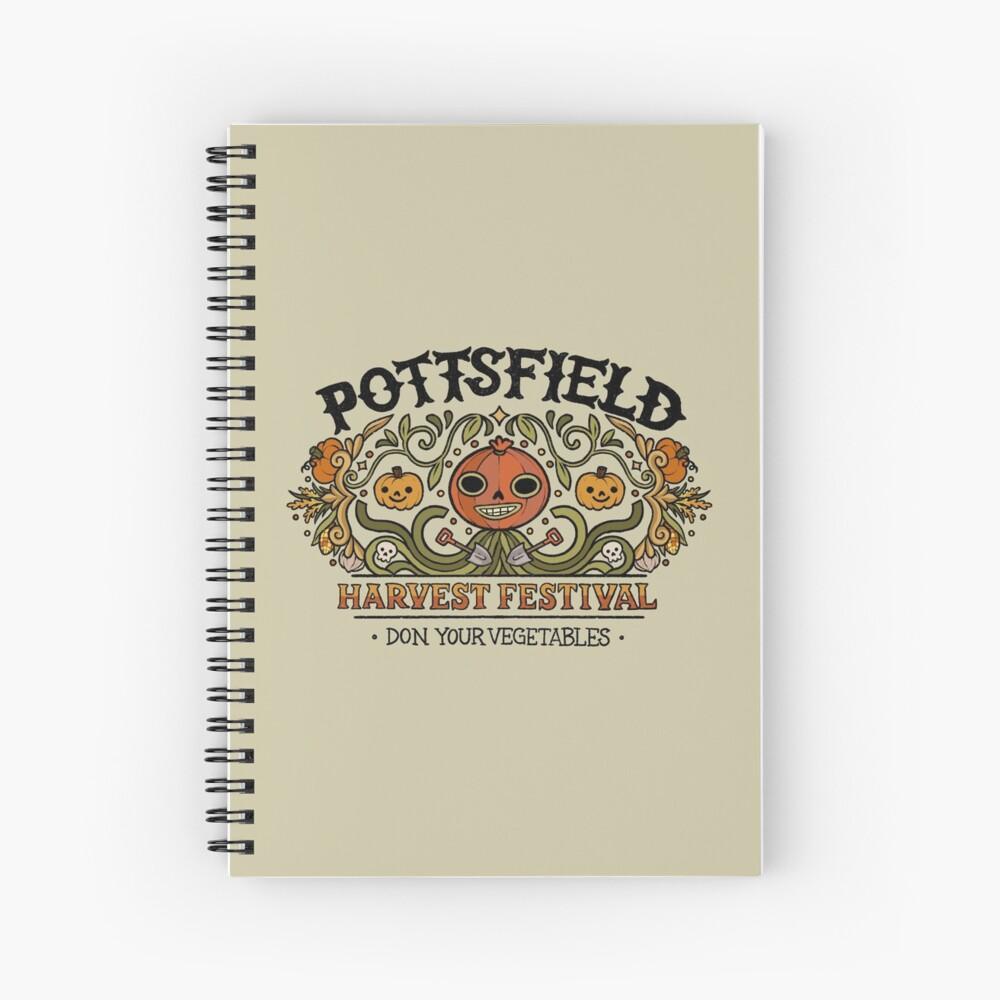 Pottsfield Harvest Festival Spiral Notebook