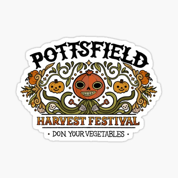Pottsfield Harvest Festival Sticker