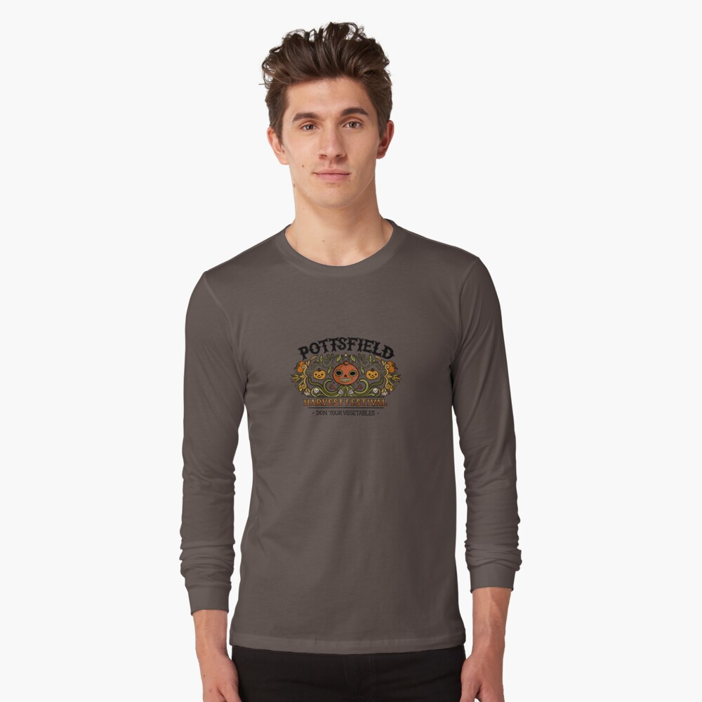 Pottsfield Harvest Festival Long Sleeve T-Shirt
