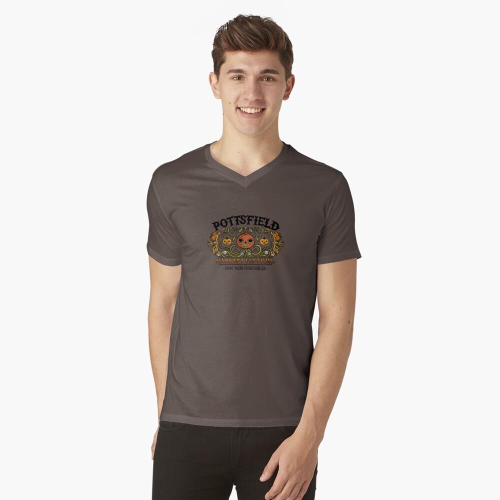 Pottsfield Harvest Festival V-Neck T-Shirt