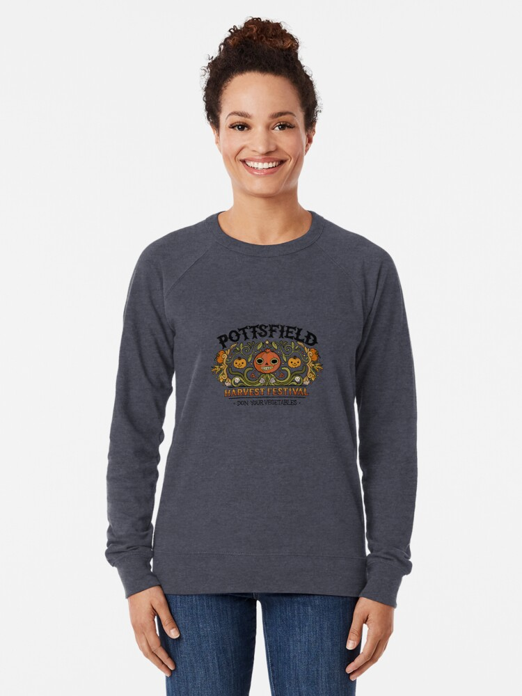Alternate view of Pottsfield Harvest Festival Lightweight Sweatshirt