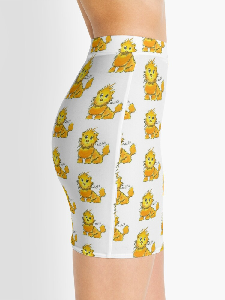 Alternate view of WatZit Enchanted Mythical Creature Yellow Mini Skirt