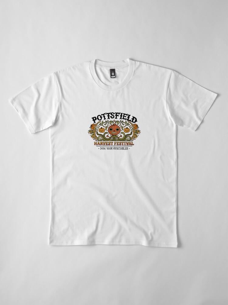 Alternate view of Pottsfield Harvest Festival Premium T-Shirt