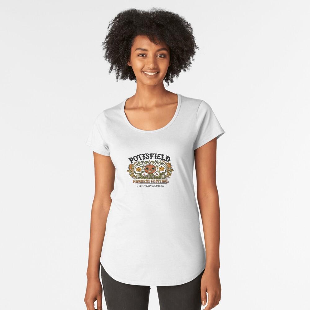 Pottsfield Harvest Festival Premium Scoop T-Shirt