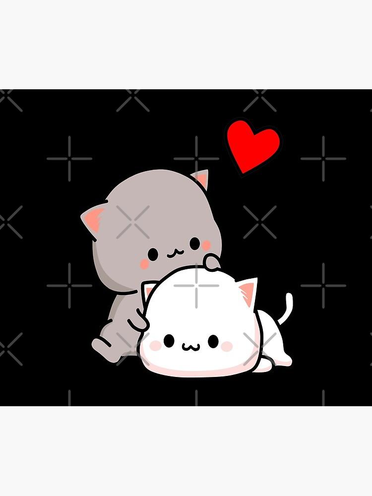 Peach Cat and Goma Love Never Fails by tommytbird