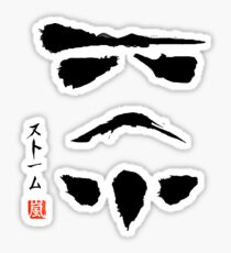 Star Wars Stormtrooper Minimalistic Painting Sticker