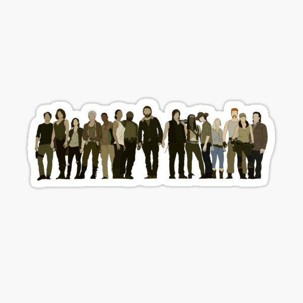 TWD CAST - SEASON 5 PORTRAIT  Sticker