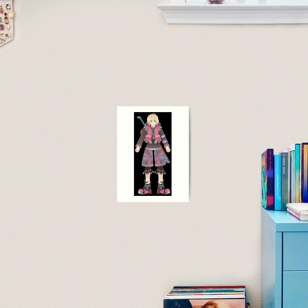 Shulk Xenoblade Chronicles Art Print