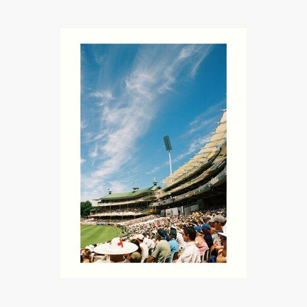 Newlands test cricket Art Print
