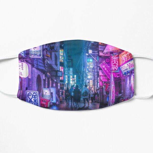Tokyo Neo Future Cyberpunk Flat Mask