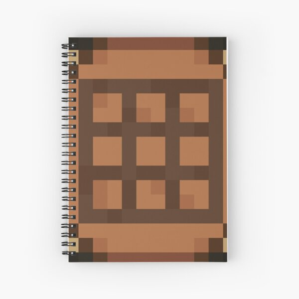 Minecraft - Crafting Table Top Spiral Notebook