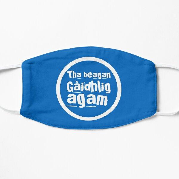 Tha beagan Gaidhlig agam (White) Flat Mask