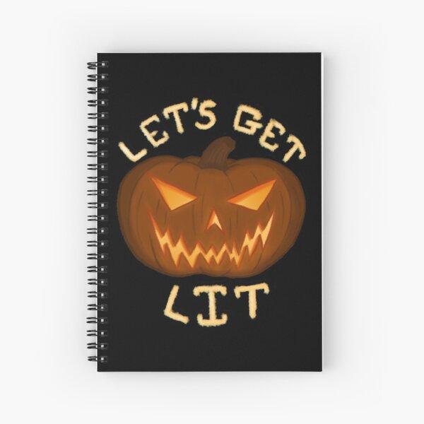 Let's Get Lit Spiral Notebook