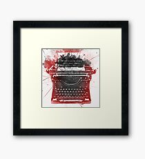 What Richard Castle Said 2.0 Framed Print