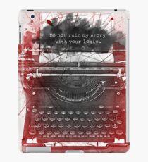 What Richard Castle Said 2.0 iPad Case/Skin