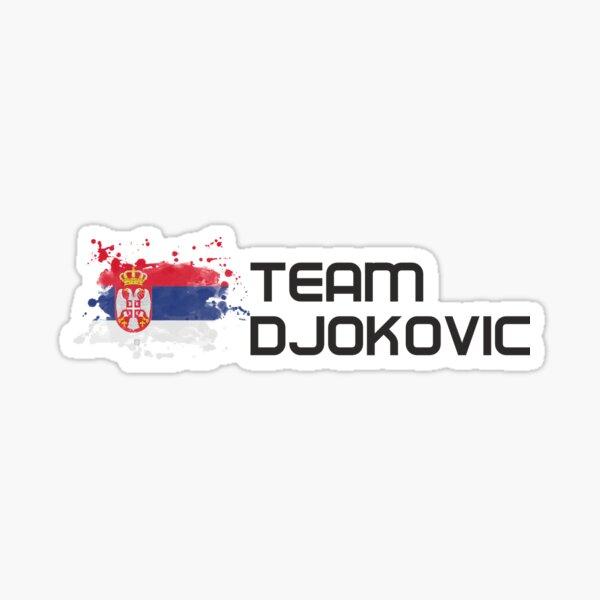 Équipe Djokovic Sticker