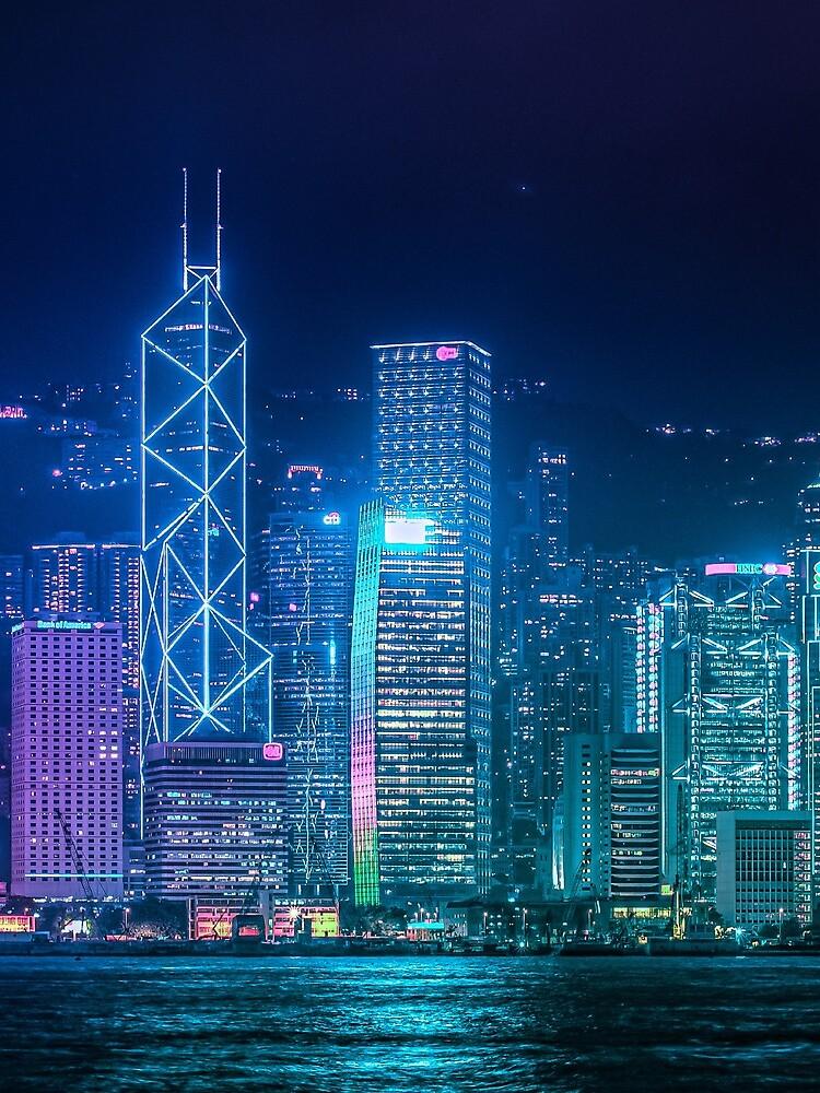 Hong Kong Cityscape by TokyoLuv