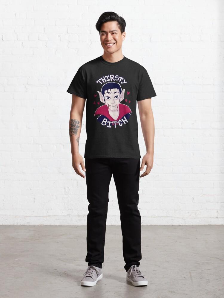 Alternate view of Thirsty Vampire Classic T-Shirt