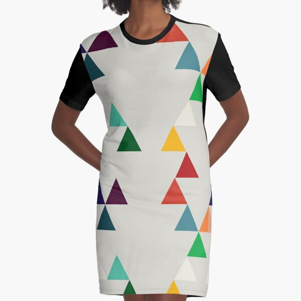 Bunting Graphic T-Shirt Dress
