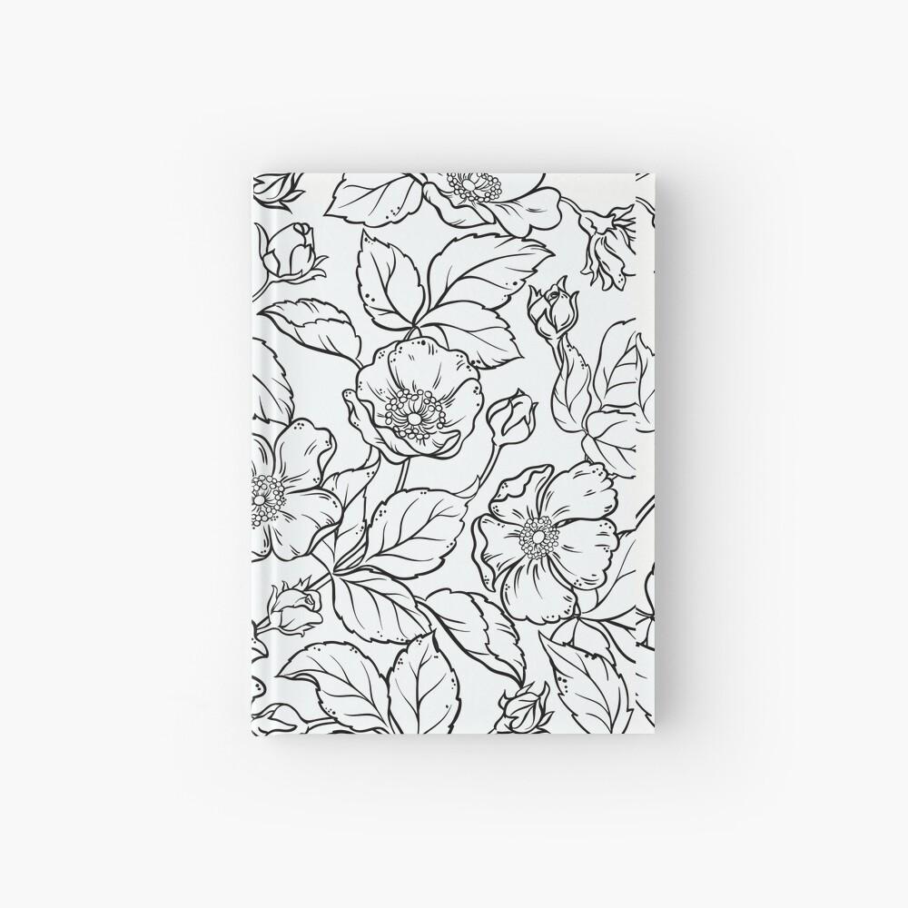 flores Cuaderno de tapa dura