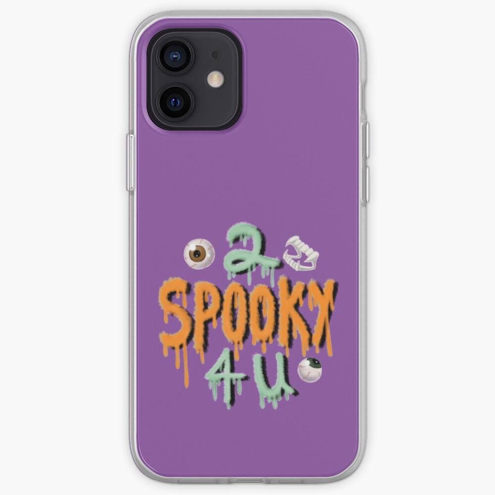 2 Spooky 4 U iPhone Case & Cover
