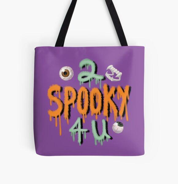 2 Spooky 4 U All Over Print Tote Bag