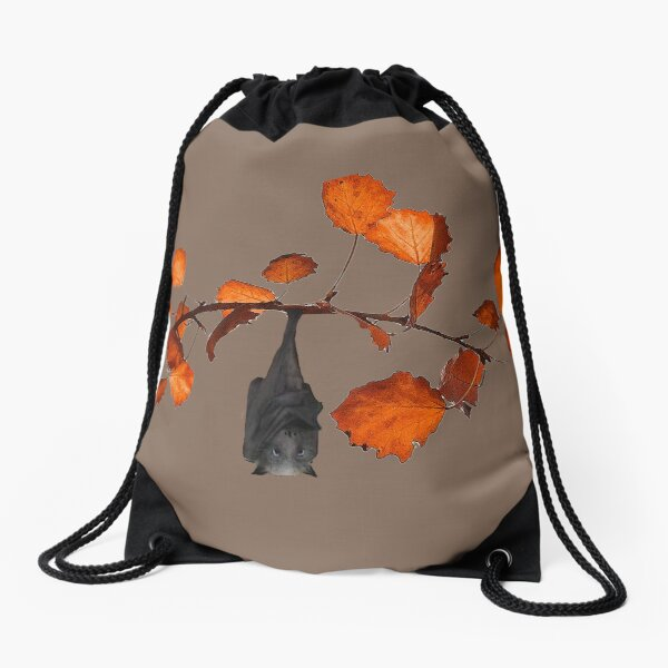 Batzilla - Just Hanging Around Drawstring Bag