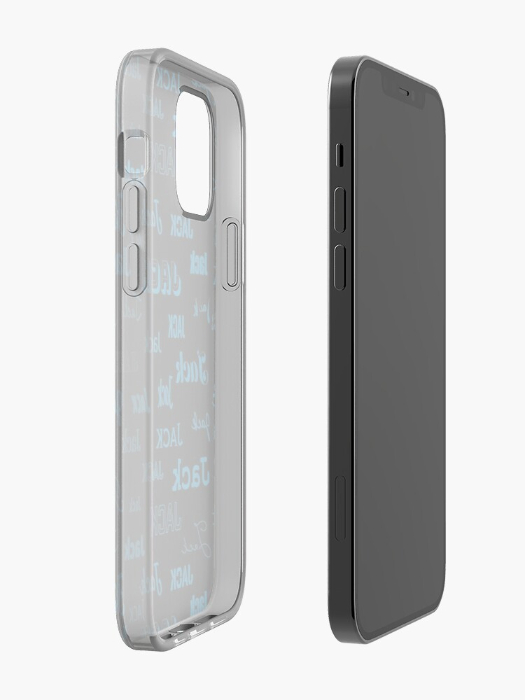 Alternate view of Name It - Jack  iPhone Case & Cover