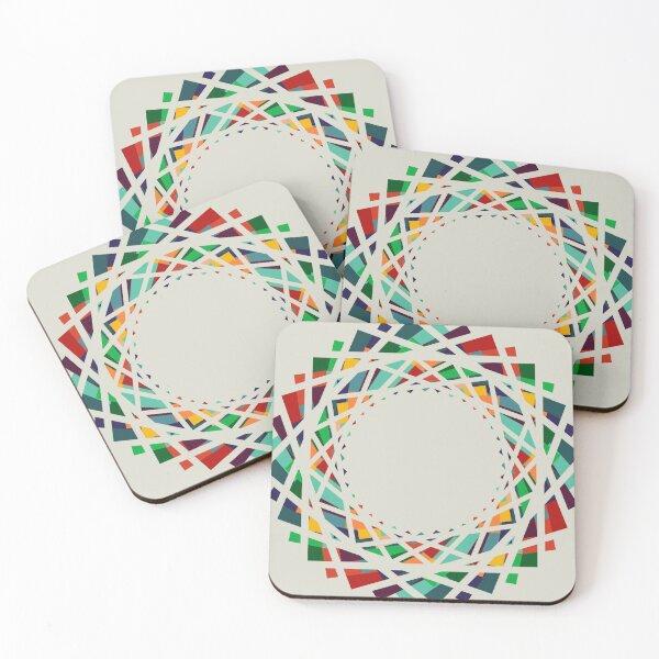 Carnation Coasters (Set of 4)