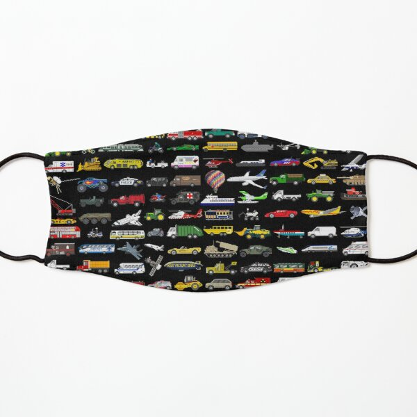 100 Vehicles - The Kids' Picture Show Kids Mask